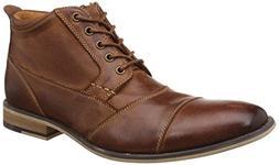 Men's Steve Madden 'Jabbar' Cap Toe Boot, Size 10.5 M - Brow