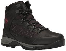 Columbia Men's Cascade Pass Waterproof Hiking Shoe, Black, M