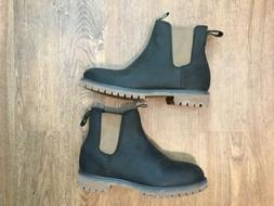 Timberland Chelsea Boots Mens Size 11 W Mule Black Boot NWOB