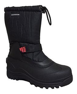 Climate X Mens YC5 Snow Boot, Black, 14 M US