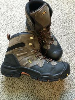 """Keen Coburg 6"""" Size 14EE Men's WP Steel Toe Work Boots Brown"""