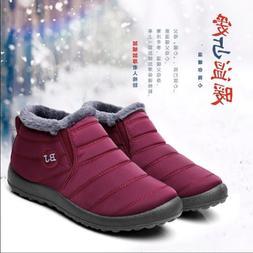 Cold-proof Cotton shoes Winter Snow <font><b>boots</b></font