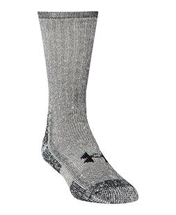 Under Armour Men's ColdGear Boot Socks , Grey, Large