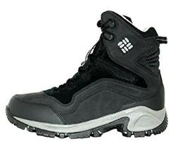 Columbia Men's Backramp Waterproof Techlite Snow Boots-Black