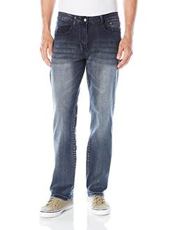 Izod Men's Comfort Stretch Relaxed Fit Jean,30x34,Night Sky