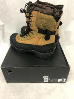 Sorel Conquest Boots Men's Waterproof Winter Snow Hiking Lea