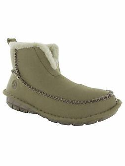 Crocs Unisex Croccasin Boot, Khaki/Mushroom, Men's 4 US M/Wo