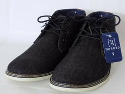 GEORGE DENIM CHUKKA MEN BOOTS SHOES  US SIZE 7