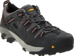 KEEN Utility Men's Detroit Low Steel Toe Shoe,Peacoat,14 EE