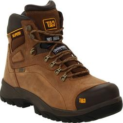Caterpillar Men's Diagnostic Steel-Toe Waterproof Boot,Dark