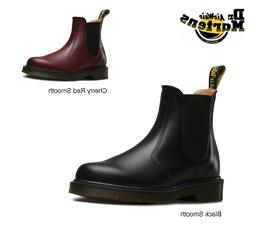 DR. MARTENS 2976 CHELSEA PULL-ON SMOOTH LEATHER BOOTS  NEW!