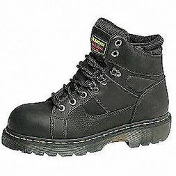 DR. MARTENS Work Boots,Sz 11,Black,6 in. H,EEEE,PR, R1340000