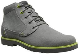 Teva Men's Durban Waxed boots, charcoal, size 9.5