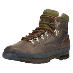 Timberland Euro Hiker Leather Boot - Brown Smooth