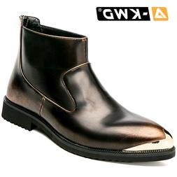 Fashion Black Work Shoes Retro Chausure Homme Slip-on <font>