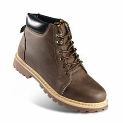 Fashion Casual High Top Work Boots Martin Boots with Soft Ru