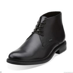 Clarks Fawley Hi Gtx Men's Black Leather Waterproof Boots St