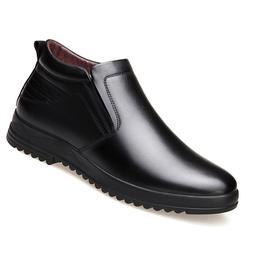 <font><b>Leather</b></font> Chelsea <font><b>Boots</b></font
