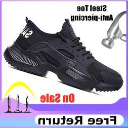 Lizeruee <font><b>Lightweight</b></font> Safety Shoes <font>