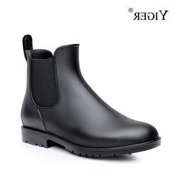 YIGER <font><b>Men</b></font> Rain <font><b>boots</b></font>