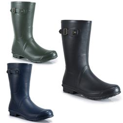 <font><b>Men's</b></font> Rubber Rain <font><b>Boots</b></fo
