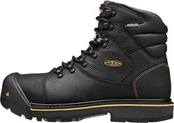 KEEN Utility Men's Fort Mac Waterproof Black 10 D US