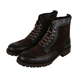 Frye George Adirondack Mens Brown Leather & Suede Casual Dre