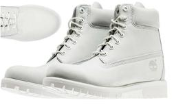 "TIMBERLAND GHOST WHITE LIMITED EDITION RELEASE MEN'S 6"" IN"