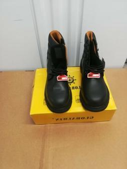 Globalwin 1606ST Black Steel Toe, Men's Work Boot, Size 13M