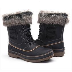 Globalwin Men's Black 1722 Winter Boots 13M