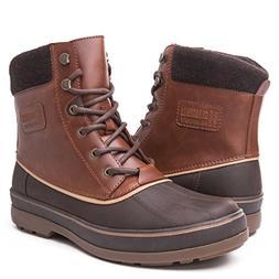 Globalwin Men's Brown 1721 Winter Boots 7.5M