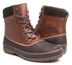 GLOBALWIN Men's Winter Boots Size US 9 Brown