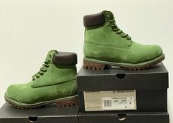 TIMBERLAND GREEN 6-INCH CLASSIC BOOTS  FOR MENS PREMIUM WATE