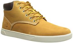 Timberland Men's Groveton Plain Toe Chukka Oxford, Wheat Nub