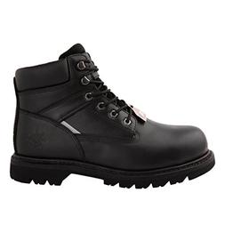 GW Men's 1606ST Black Steel Toe Work Boots 12 M US