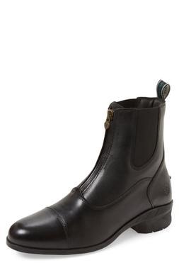 Men's Ariat Heritage Iv Zip Chelsea Boot, Size 9 M - Black