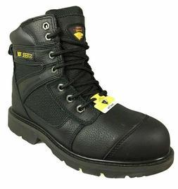 Herman Survivor Men's Black Montreal Steel Toe Work Boots -