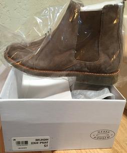 Steve Madden Highline Suede Chelsea Boots Men's Size 12