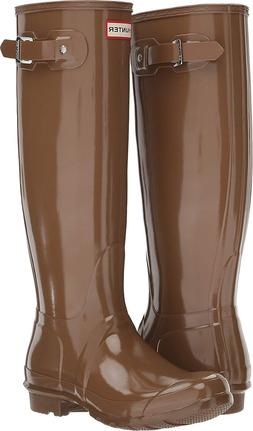 Hunter Womens Original Tall Gloss Rain Boots