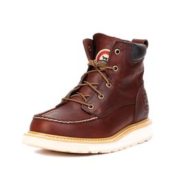 "Red Wing Irish Setter Men's Ashby 6"" Aluminum Toe Work Boots"