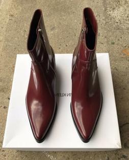 Calvin Klein Jeans Alden Boots Men Dark Burgundy ~ Size 9 US