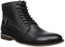 Steve Madden Men's JONSTEN Ankle Boot, Dark Grey, 11 M US