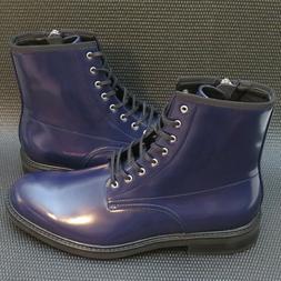 Calvin Klein Keeler 34F0468 Men's Size 10.5 Blue Leather Com