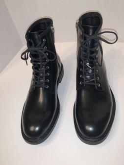 Calvin Klein Keeler 34F0468 Men's Size 9.5 Leather Combat Bo