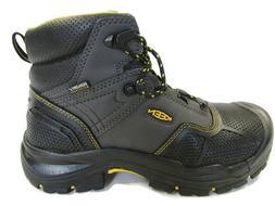 """Keen Logandale 1017828 Men's 6"""" Waterproof Steel Toe Black W"""