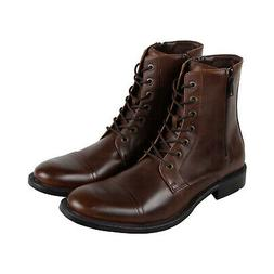 Unlisted by Kenneth Cole Blind Turn Mens Brown Leather Casua