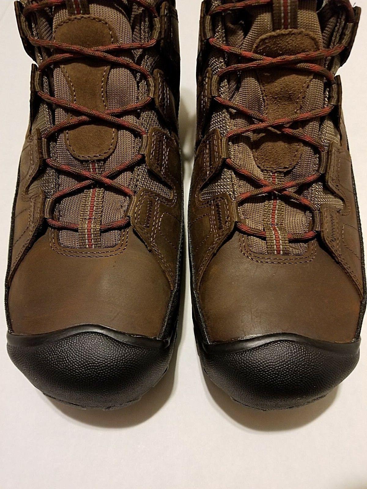 KEEN 1013256 STEEL TOE Utility 600G Brown Work Boots