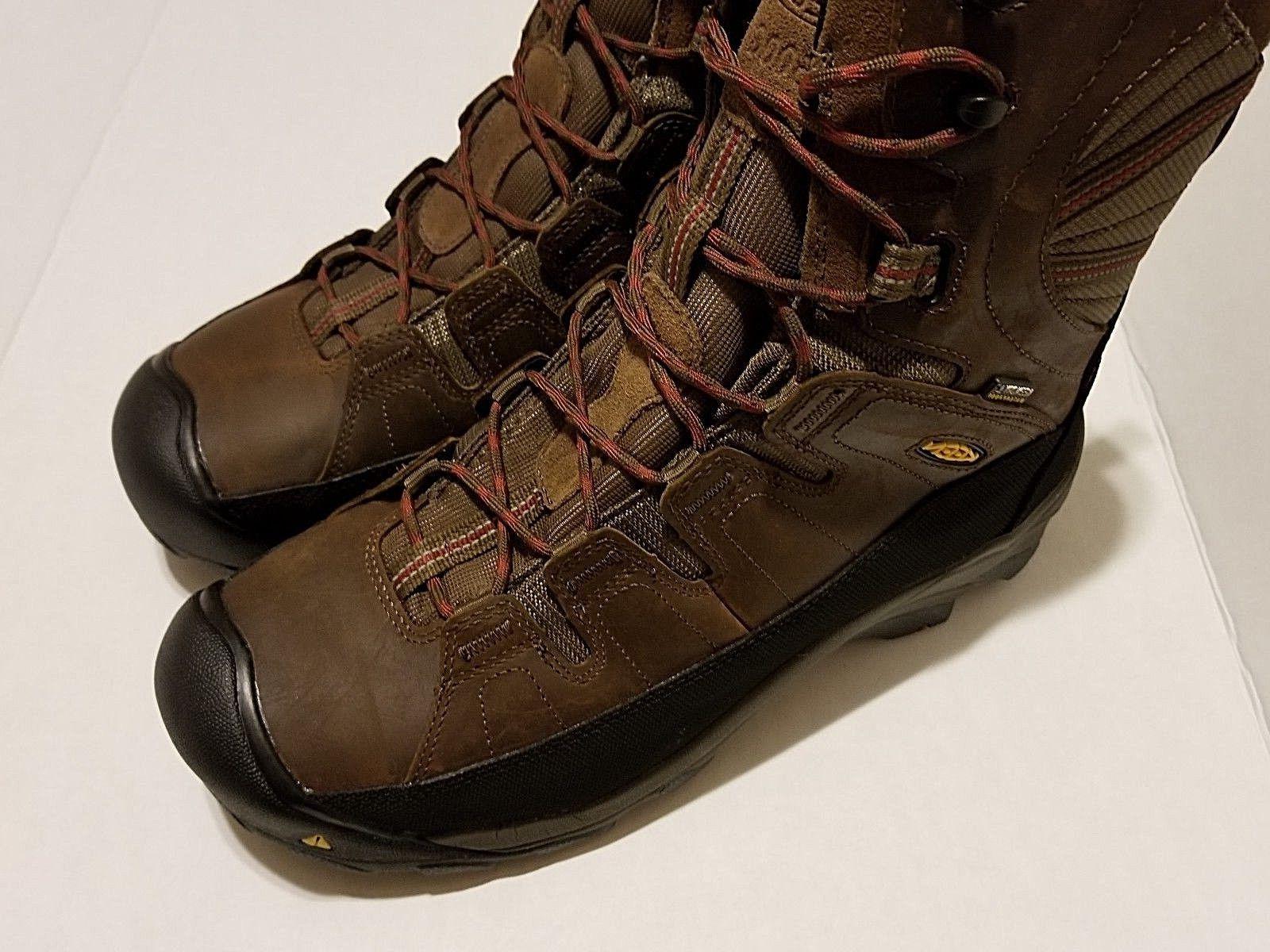 KEEN Utility Cascade Brown Work Boots MEN'S