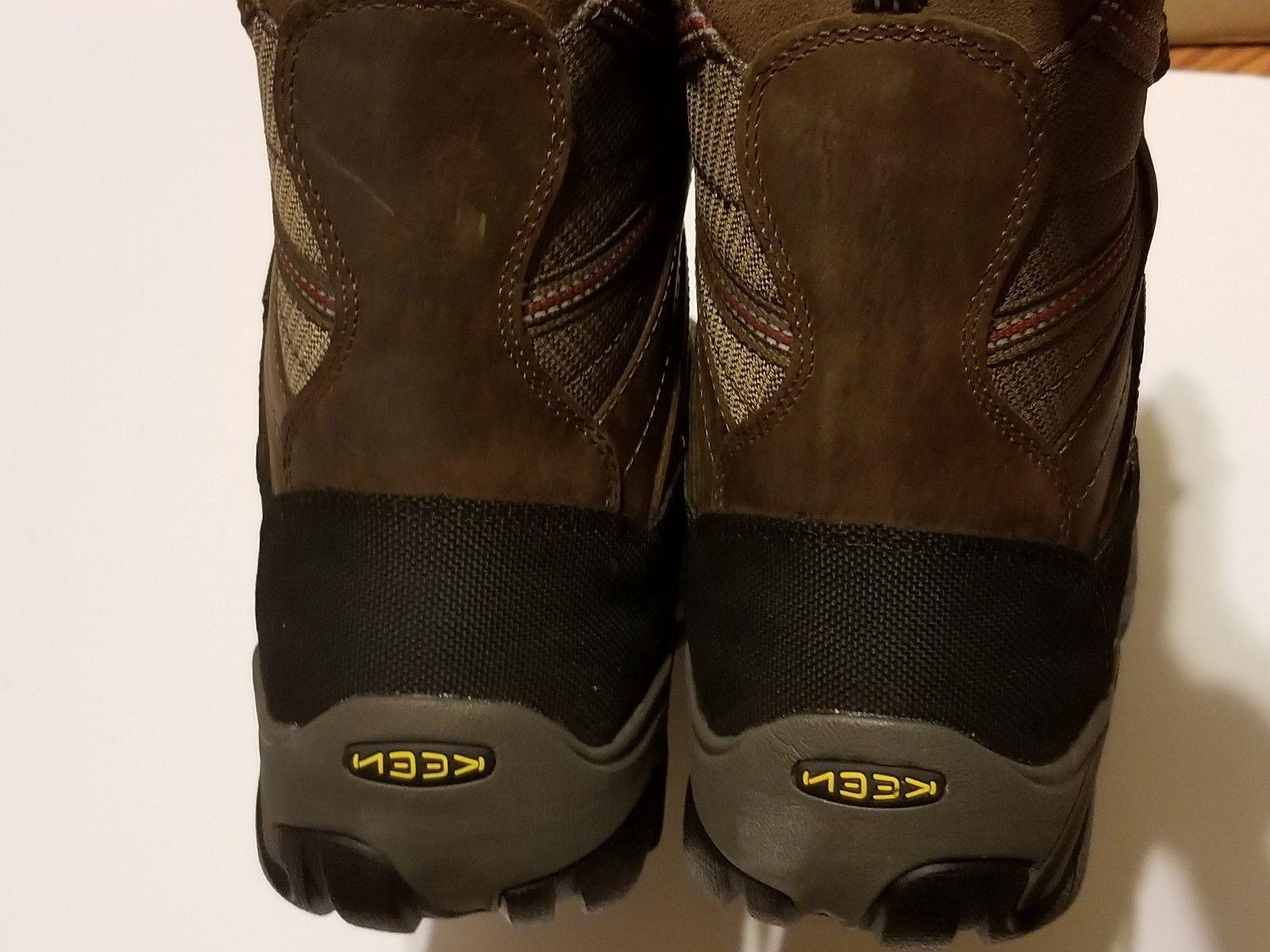 KEEN TOE Utility Minot 600G Brown Work