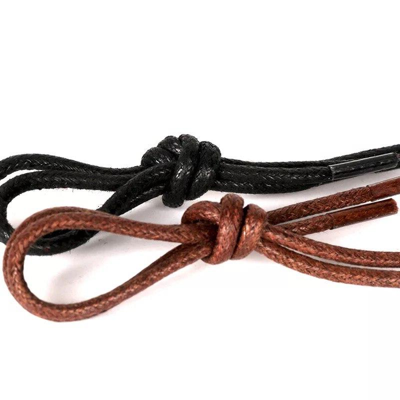 1Pair Cotton Shoe Leather lace ShoeLaces Martin <font><b>Boots</b></font>